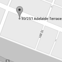 google map image of our Perth office