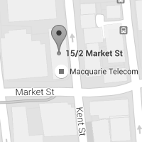 Macquarie Telecom - Sydney office map