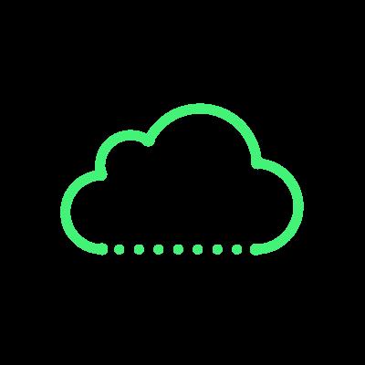 Telecom cloud icon
